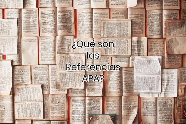 ¿Qué son las Referencias APA_