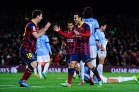 Barcelona vs el Málaga