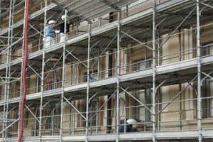 Rehabilitación de fachadas en edificios de Barcelona